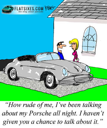 Porsche Cartoon First Date